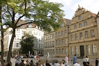 Bielefeld's Old Town
